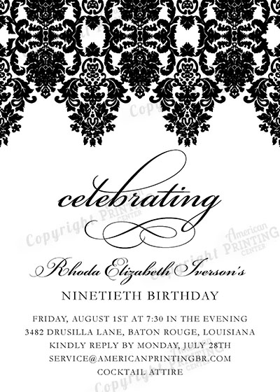 Party Invitations Social Printing – 31 Party Invite