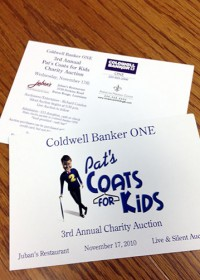 coats for kids postcard