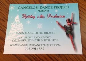 dance postcard