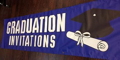 grad banner