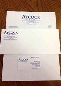 Aycock Letterhead