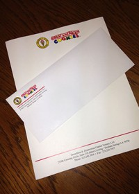 cookie letterhead